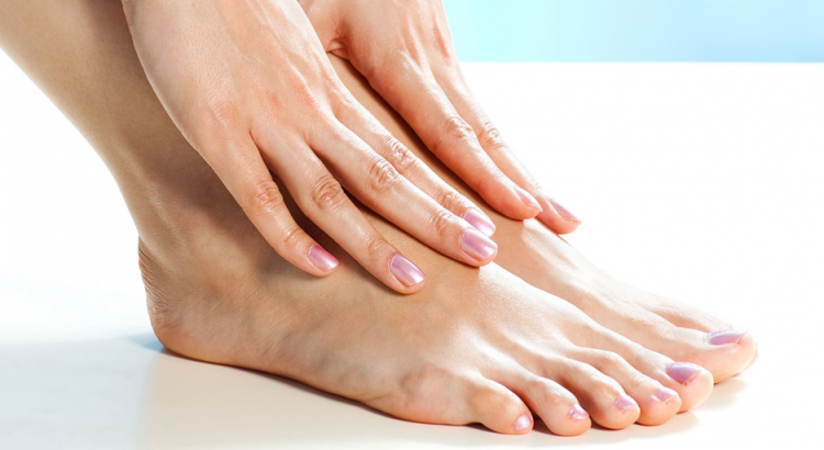 Rachadura nos pés
